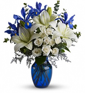 Blue Horizons in North Syracuse NY, The Curious Rose Floral Designs