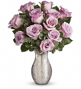 Forever Mine by Teleflora in Dubuque IA, New White Florist