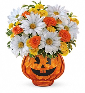 Happy Halloween by Teleflora in Crown Point IN, Debbie's Designs