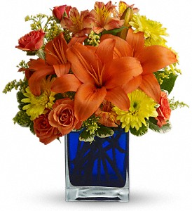 Summer Nights by Teleflora in Lewiston ME, Val's Flower Boutique, Inc.