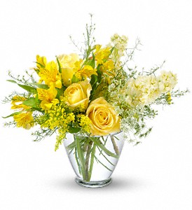 Sunny Love Bouquet in DeKalb IL, Glidden Campus Florist & Greenhouse