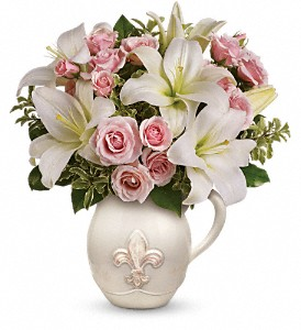 Teleflora's Fleur-de-Love Bouquet in Roanoke Rapids NC, C & W's Flowers & Gifts