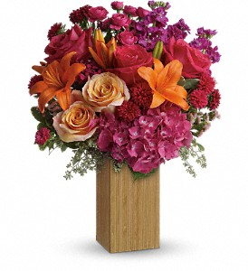 Teleflora's Fuchsia Fantasy in Gaithersburg MD, Flowers World Wide Floral Designs Magellans