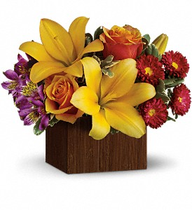 Teleflora's Full of Laughter in Overland Park KS, Kathleen's Flowers