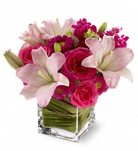 Teleflora's Posh Pinks in Quitman TX, Sweet Expressions