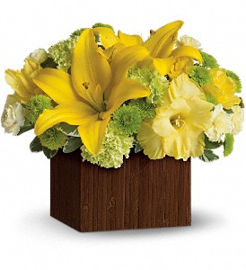 Teleflora's Smiles for Miles in Amherst NY, The Trillium's Courtyard Florist