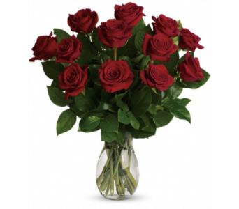 One Dozen Roses in Alamogordo NM, Alamogordo Flower Company