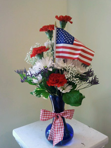 Stars and Stripes in Naples FL, Gene's 5th Ave Florist