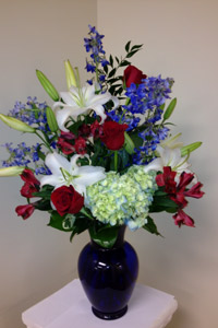 Patriots dream in Naples FL, Gene's 5th Ave Florist