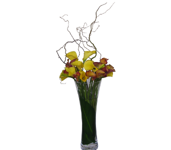 Calla Lily Centerpiece in Raleigh NC, North Raleigh Florist