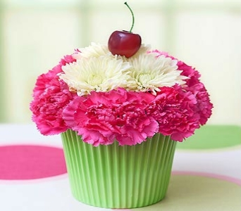 Cupcake In Bloom for Summer in Manhattan KS, Westloop Floral