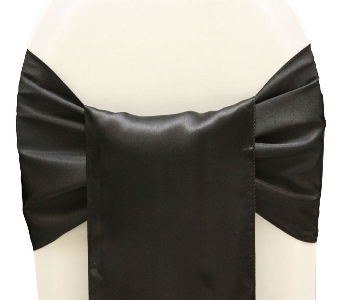 Wide Black Satin Sash in El Paso TX, Kern Place Florist