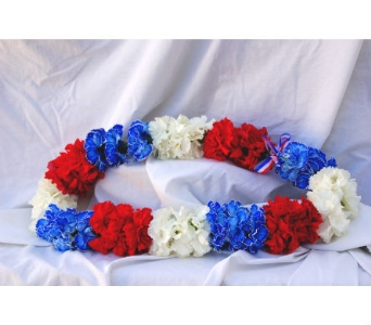 Single Carnations  Lei in San Diego CA, Flowers Of Point Loma