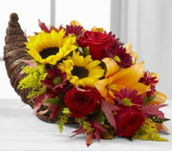 Fall Harvest Cornucopia in Kingsport TN, Holston Florist Shop Inc.