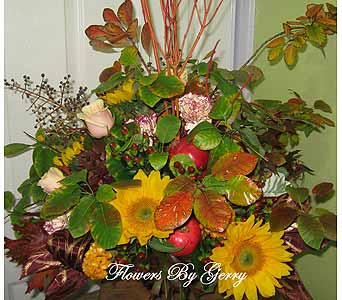 Summer Harvest in Brentwood CA, Flowers By Gerry