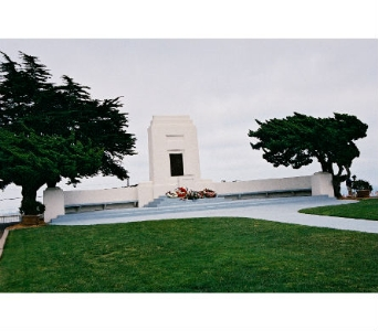 FORT ROSECRANS-Memorial Monument in San Diego CA, Flowers Of Point Loma
