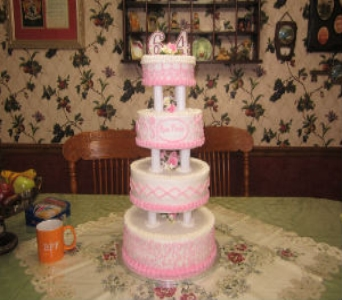 Birthday Cake 22 in Gautier MS, Flower Patch Florist & Gifts