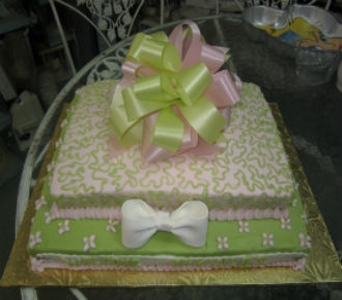 Baby Shower Cake 26 in Gautier MS, Flower Patch Florist & Gifts