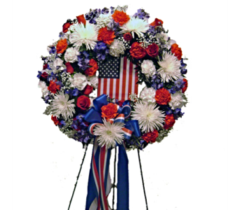 Patriots Wreath in Herndon VA, Herndon Florist, Inc