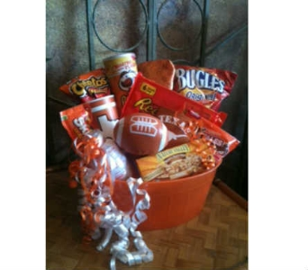Tailgate Party Basket in Austin TX, Ali Bleu Flowers