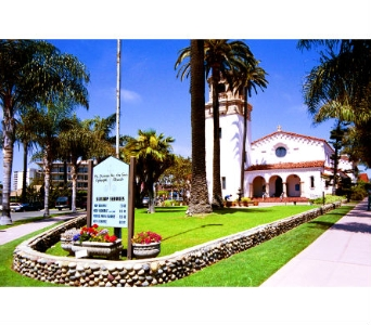St.James by the Sea in San Diego CA, Flowers Of Point Loma