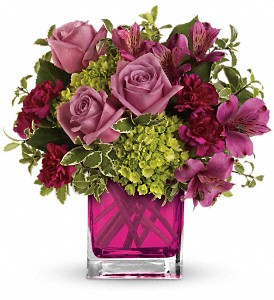 Splendid Surprise by Teleflora in Modesto, Riverbank & Salida CA, Rose Garden Florist