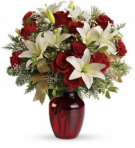 Winter Riches Bouquet in Gaithersburg MD, Flowers World Wide Floral Designs Magellans