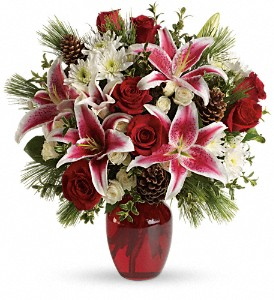 Winter Treasures Bouquet in Decatur IL, Svendsen Florist Inc.