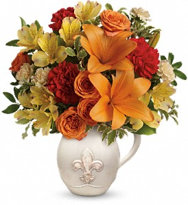 Teleflora's Summer Cottage in Jacksonville FL, Hagan Florist & Gifts