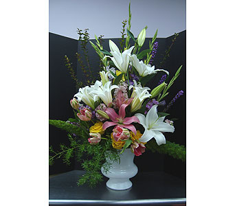 Wedding Alter Piece Arrangement in Houston TX, Athas Florist