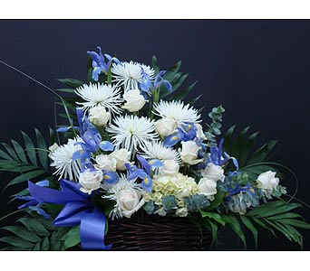 Sympathy - Basket Arrangement in Houston TX, Athas Florist