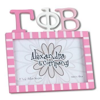 LETTER FRAME GAMMA PHI BETA  in San Marcos TX, Flowerland