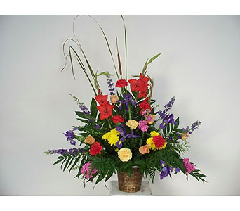 Blazing Summer Tribute in Indianapolis IN, Gillespie Florists