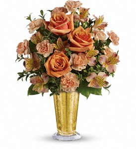 Teleflora's Southern Belle Bouquet in North Syracuse NY, The Curious Rose Floral Designs