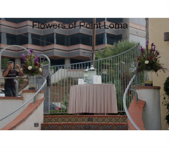 Entrance florals in San Diego CA, Flowers Of Point Loma