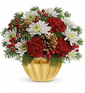 Precious Traditions Bouquet by Teleflora in Hallowell ME, Berry & Berry Floral