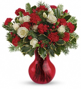 Teleflora's Gather Round Bouquet in Dubuque IA, New White Florist