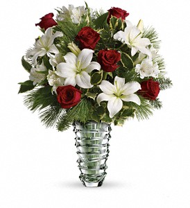Teleflora's Glorious Noel Bouquet in Gaithersburg MD, Flowers World Wide Floral Designs Magellans