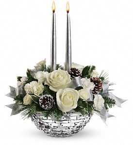 Teleflora's Splendid New Year Centerpiece in Detroit and St. Clair Shores MI, Conner Park Florist