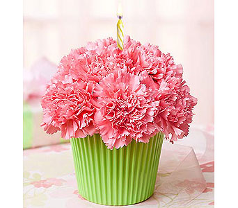 Buds and Blooms Cupcake Birthday Bouquet in Covington WA, Covington Buds & Blooms