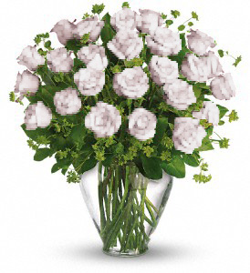 24 WHITE ROSE in Orlando FL, Colonial Florist