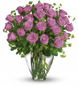 24 LAVENDER ROSES in Orlando FL, Colonial Florist