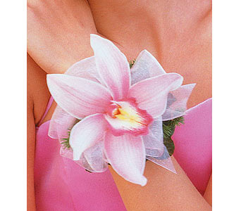 Pink Orchid Wristlet in Bend OR, All Occasion Flowers & Gifts