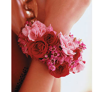 Ruby Romance Bracelet in Olean NY, Mandy's Flowers