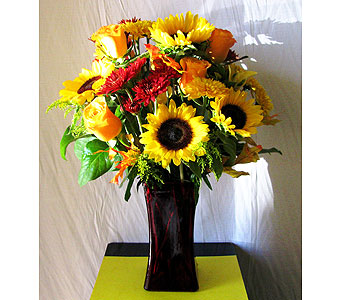 Fall Sophistication in San Diego CA, The Floral Gallery
