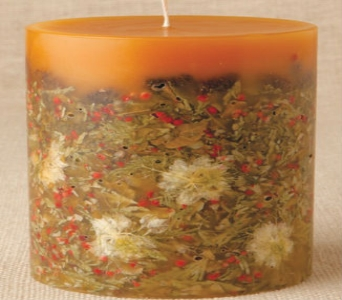 'Cinnamon Pinon' Botanical Candle in Sitka AK, Bev's Flowers & Gifts