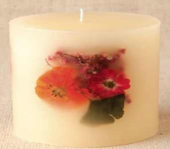 'Hibiscus Lime' Botanical Candle in Sitka AK, Bev's Flowers & Gifts