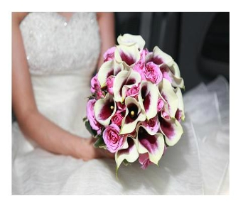 Picasso Calla Lily Bridal Bouquet in Freehold NJ, Especially For You Florist & Gift Shop