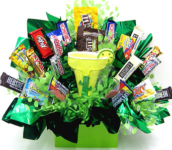 "CB288 ""Margarita Time"" Candy & Cookie Bouquet in Oklahoma City OK, Array of Flowers & Gifts"