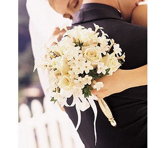 Fragrant All-White Bouquet in Bend OR, All Occasion Flowers & Gifts